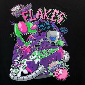 Frosted Invader Flakes Invader Zim T-Shirt XL